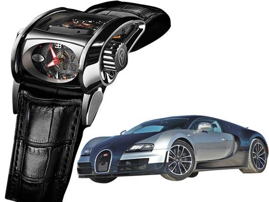פרמיג'אני–בוגאטי סופר–ספורט: שעון במחיר של פרארי / צלם: יחצ