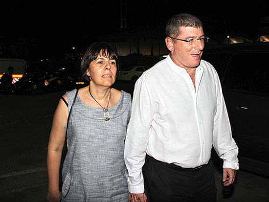 אליעזר וענת שקדי, חתונת איתי ושירן אשכנזי / צילום: יוסי כהן
