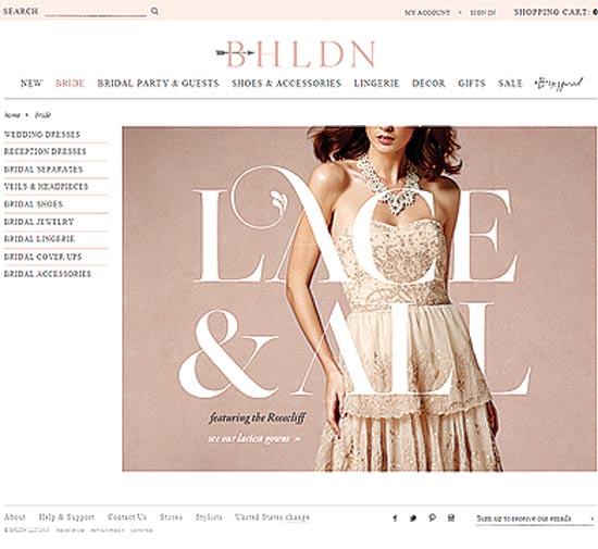 אתר BHLDN / צילום: יחצ