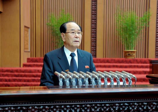 מנהיגים מבוגרים - נשיא מועצת הנשיאות הצפון קוריאנית קים יונג נאם/ צילום: רויטרס
