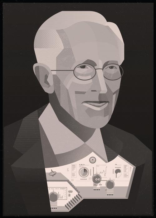 הצצה לתוך גופו של סטנלי פישר שמגלה פעילות חייזרית שאחראית להישגיו בתחום הכלכלה