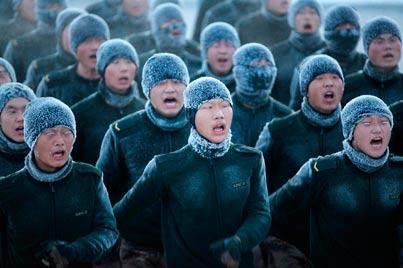 מסביב לגלובוס - קור סיני / צילום: רויטרס
