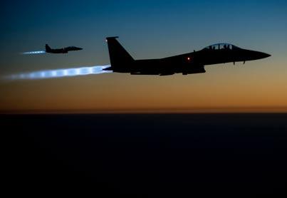 """מסביב לגלובוס - התקיפה נגד דאע""""ש / צילום: רויטרס"""
