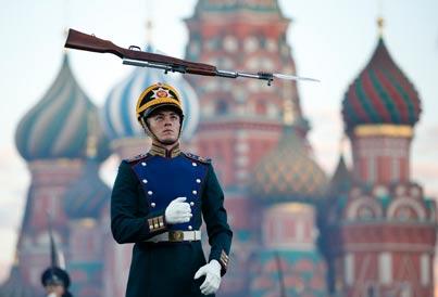 מסביב לגלובוס - המוזיקה של צבא רוסיה / צילום: רויטרס