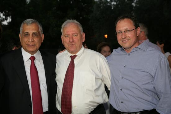 ניר זיכלינסקי, יאיר סרוסי, פנחס כהן/ צלם: ארז חרודי ופז בר