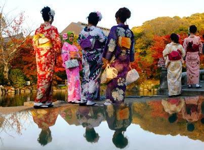 מסביב לגלובוס - בגן ביפן / צילום: רויטרס