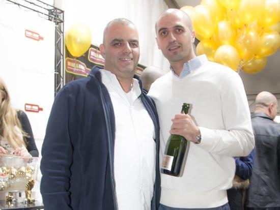 וואסים חינאווי ואייל רביד/ צילום: שרי חיימזון