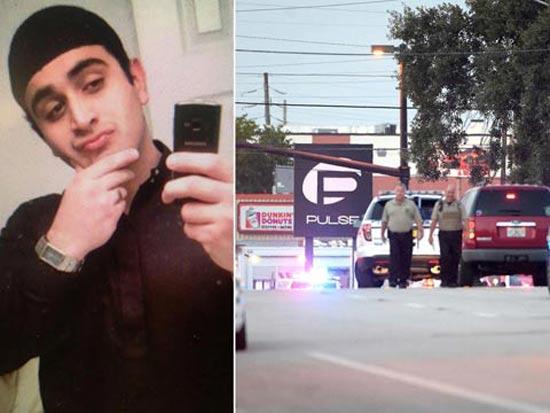 """פיגוע ירי באורלנדו פלורידה, טרור, עומר מטין, דאע""""ש / צילום: וידאו"""