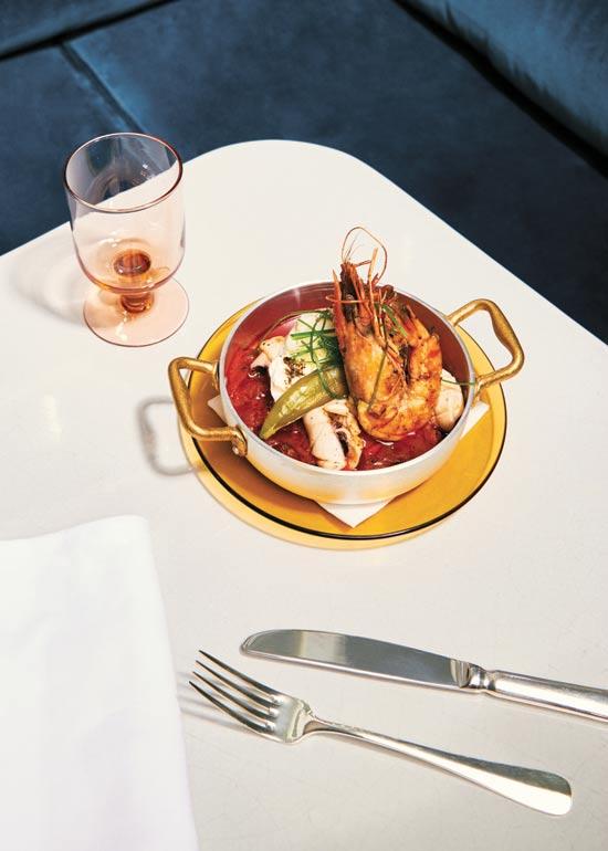 מנה של מסעדת בלאגן/ צילום: julie charles