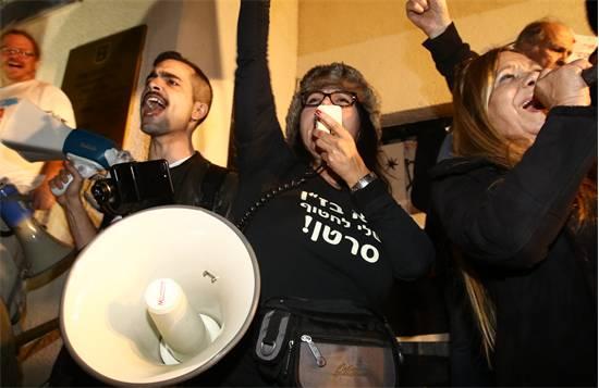 הפגנה ברוטשילד / צילום: אמיר המאירי