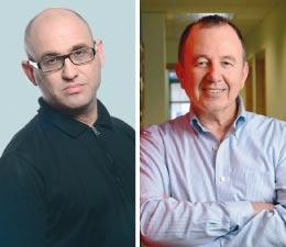 אלון שטרוזמן ואבי ארמוזה / צילומים: איל יצהר ורונן אקרמן