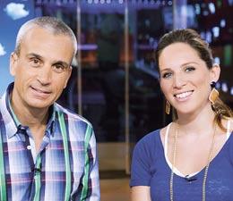 הילה קורח ואברי גלעד / צילומים: טל גבעוני