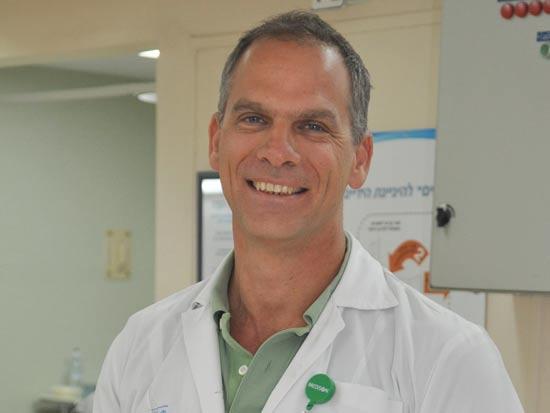 """ד""""ר מיכאל יונש / צילום: דובר בית חולים קפלן"""