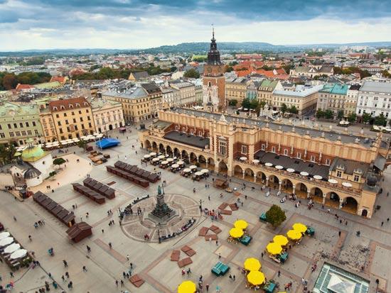 כיכר השוק, קרקוב / צילום: Shutterstock/ א.ס.א.פ קרייטיב