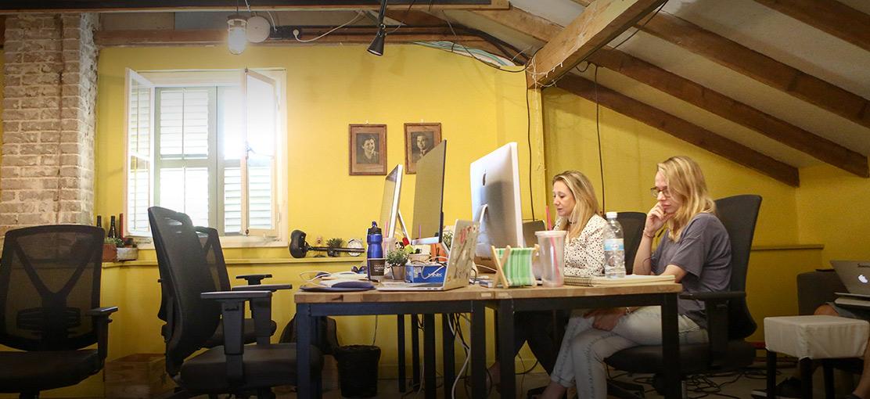 סטארטאפים - lemonade-office-2 / צילום: שלומי יוסף
