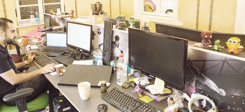 סטארטאפים - minute media-office-3 / צילום: שלומי יוסף