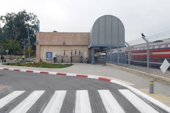תחנת הרכבת החדש ברחובות / צילום: איל יצהר