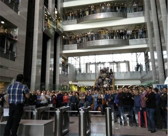 כינוס עובדי חברת חשמל / צילום: ועד עובדי חברת החשמל