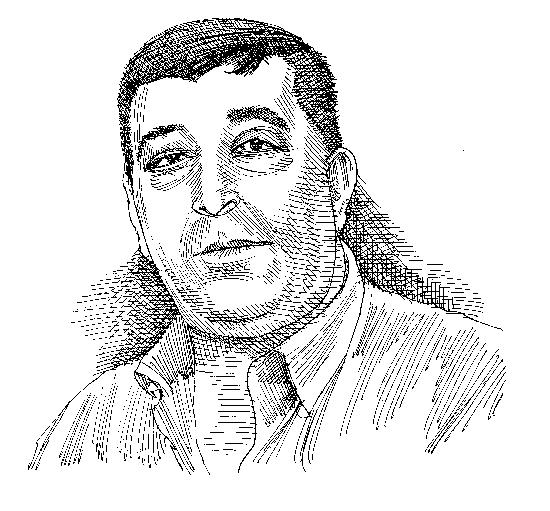 גאנם חמאדה/ איור גיל ג'יבלי