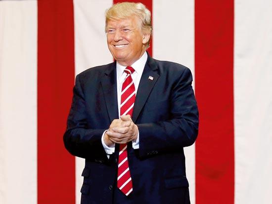 נקיטת עמדה חד משמעית במהלך הקמפיין. דונלד טראמפ / צילום: Joshua Roberts, רויטרס