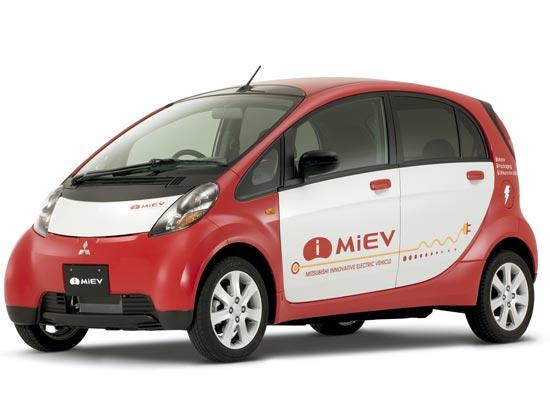 המכונית החשמלית I-MIEV של מיצובישי