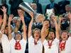 סביליה חוגגת זכייה בליגה האירופית  / צילום: רויטרס