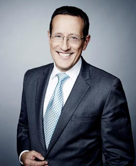 Richard Quest 2015 / צילום: PR