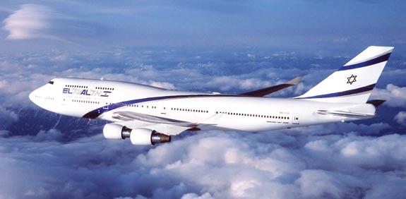 מטוס, אווירון, אל על, תעופה אזרחית בואינג 747 אלעל / צלם בלומברג