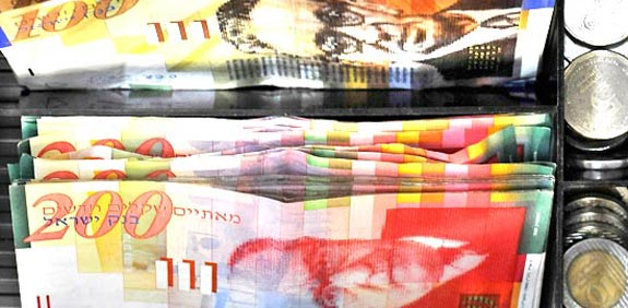 shekel  picture: bloomberg