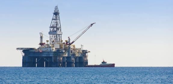gas drilling rig