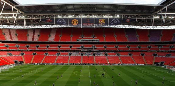 איצטדיון וומבלי בלונדון / צילום: רויטרס