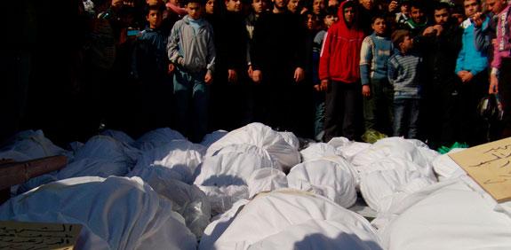 הטבח בסוריה / צילום: רויטרס