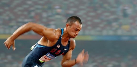 הספורטאי האולימפי האמריקאי בראיין קליי / צילום: רויטרס