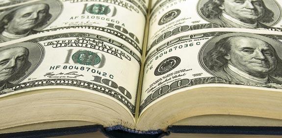 דולרים ספרים / צלם: שאטרסטוק