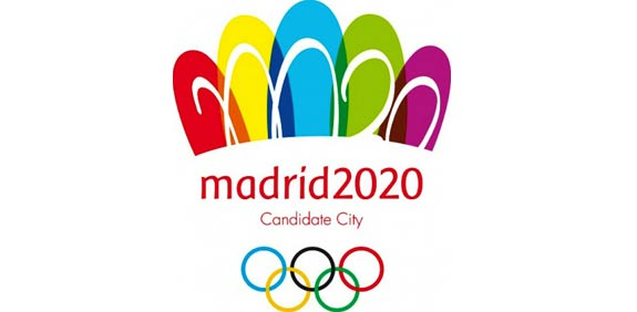 הלוגו של קמפיין אירוח המשחקים האולימפיים ב-2020 מדריד