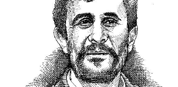 מחמוד אחמדיניג'אד / איור: גיל ג'יבלי