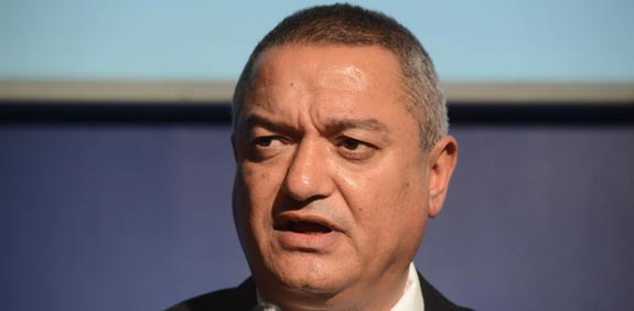 השופט חאלד כבוב בועידת ישראל לעסקים / צילום: איל יצהר