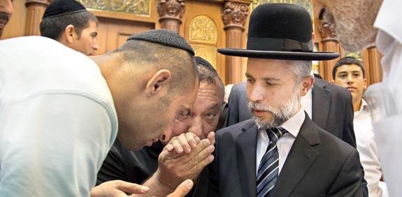הרב זמיר כהן / צילום: אלון רון
