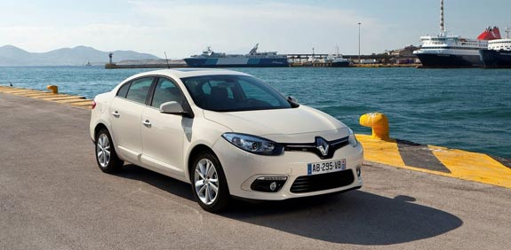 """רנו פלואנס Renault-Fluence / צילום: יח""""צ"""