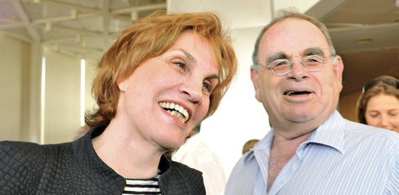 Galia Maor and Eitan Raff