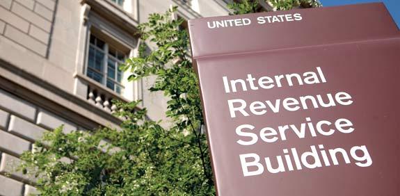 מטה רשות המיסים בארצ\ות הברית / צילום: בלומברג