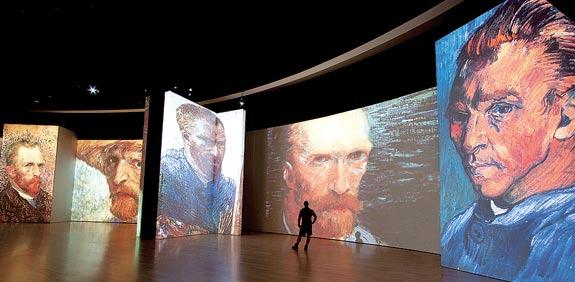 ואן גוך תערוכה / צילום: יחצ
