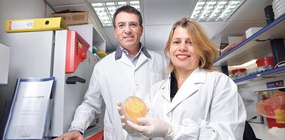 Ron Babecoff and Tami Ben-Yedidya
