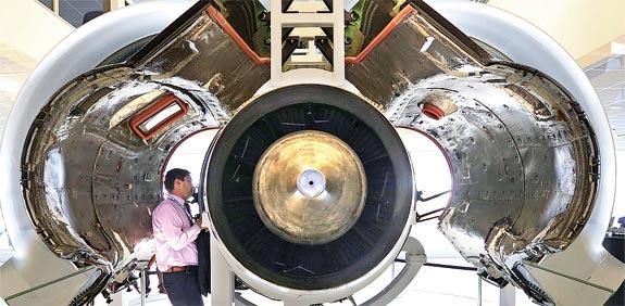 מנוע מטוס של United Technologies  / צילום: בלומברג