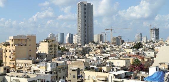 מרכז תל אביב / צילום: תמר מצפי