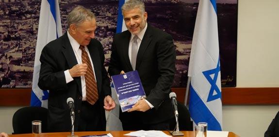 Eytan Sheshinski, Yair Lapid