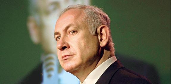 Benjamin Netanyahu  picture: Tamar Mitzpi