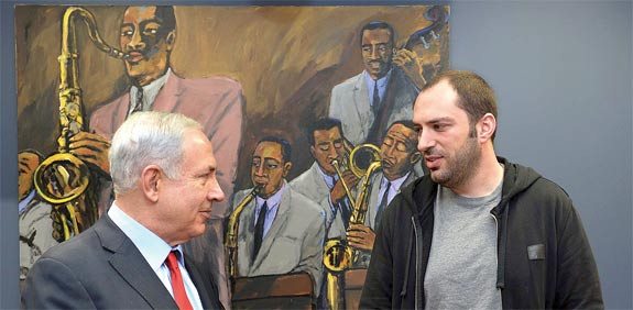 Netanyahu meets Whatsapp founder Jan Koum