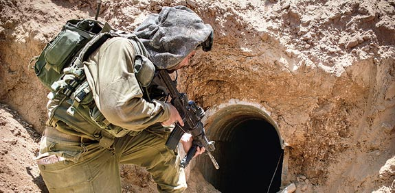 IDF uncovers Hamas tunnels