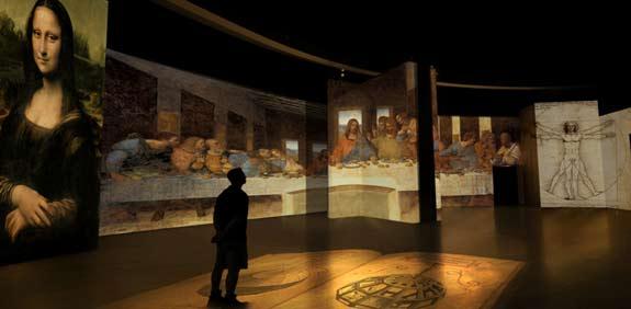 התערוכה דה וינצי / צילום: יחצ